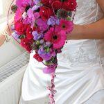 Heart bridal bouquet