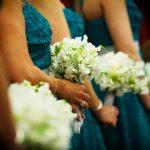 Maids handtieds of sweetpeas